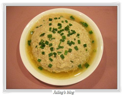 蔥香豆腐蒸肉餅