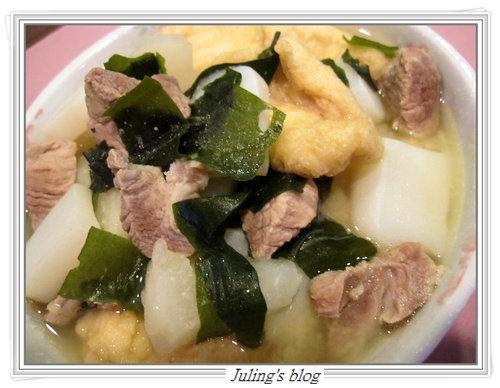 豬肉蘿蔔味噌煮
