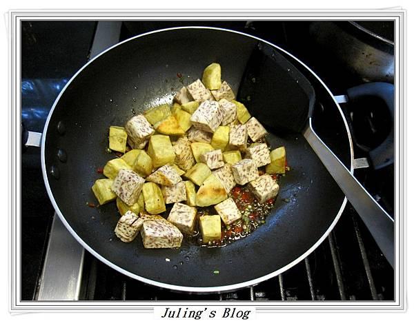 花生芋仔蕃薯做法7