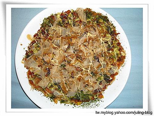 日式海鮮煎餅