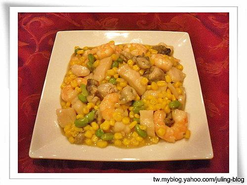 玉米燴海鮮