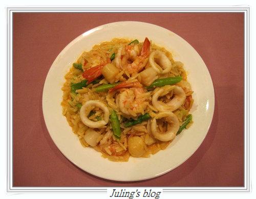 海鮮米形麵
