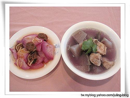 紫蘿蔔兩吃(梅汁紫蘿蔔&紫蘿蔔排骨湯)