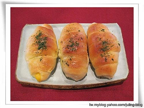 起司熱狗捲麵包