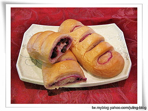 紫薯麵包(直接法)