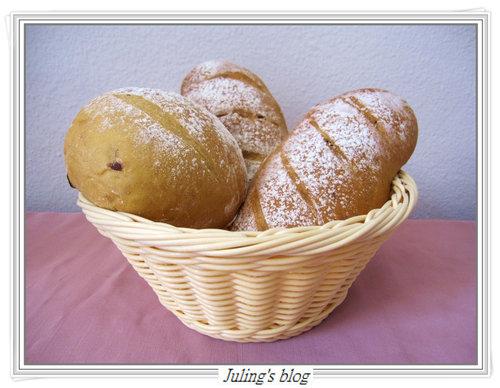 黑糖桂圓麵包