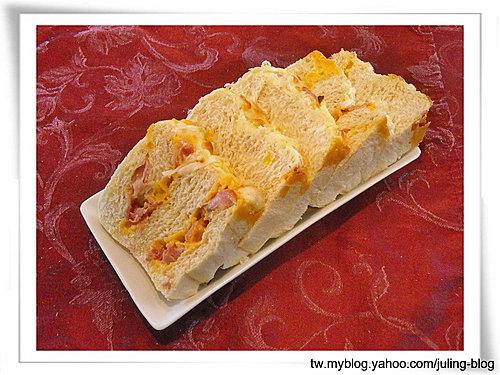 火腿乳酪湯種土司