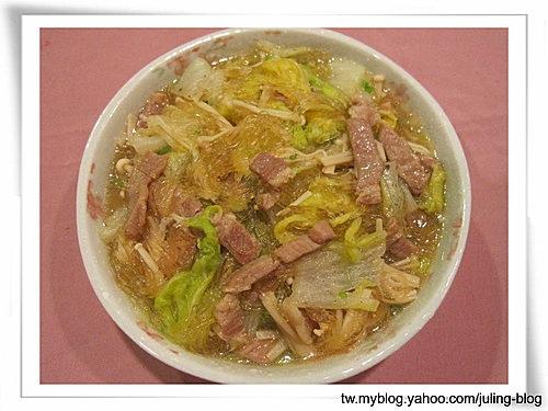 白菜豬肉冬粉