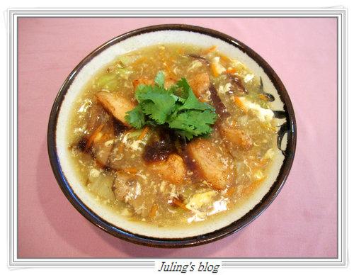 沙茶鯛魚羹