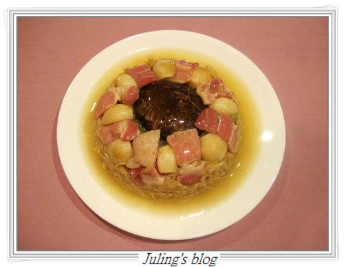 香蒜干貝燴白菜