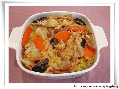 魷魚絲滷白菜