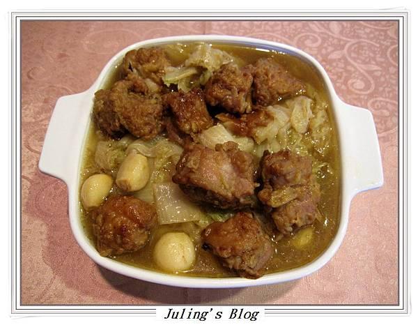 排骨酥白菜煲1