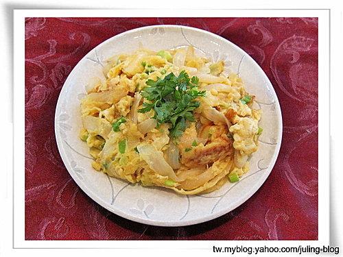 起司洋蔥炒蛋