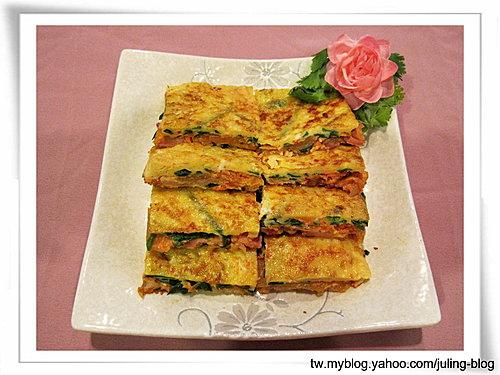 韓式泡菜煎蛋餅