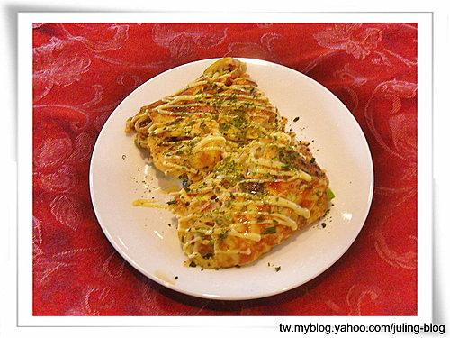 鮮蝦麵蛋餅