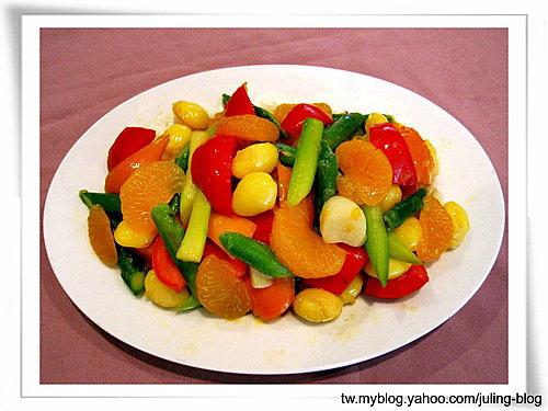 果丁彩蘆筍