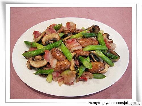 培根蘆筍菇