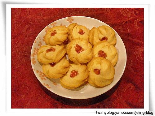 果醬奶酥餅乾