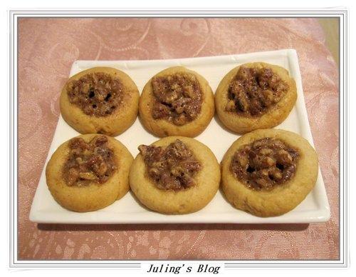 胡桃派餅乾(pecan pie cookies)
