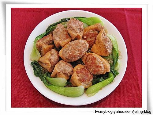 紅燒油豆腐鑲肉