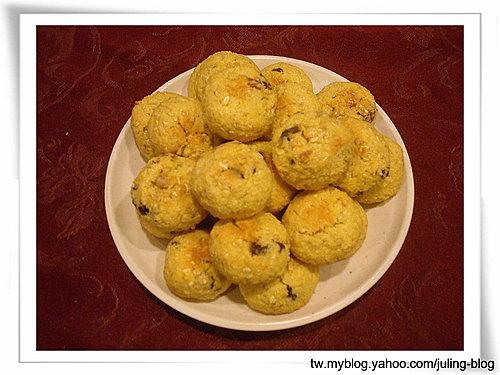 燕麥果仁椰子球