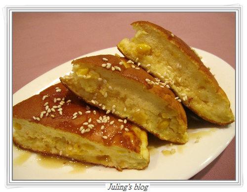 香煎玉米鬆餅