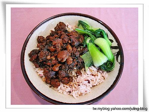 梅菜肉燥飯