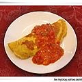 蕃茄淋醬蛋包飯