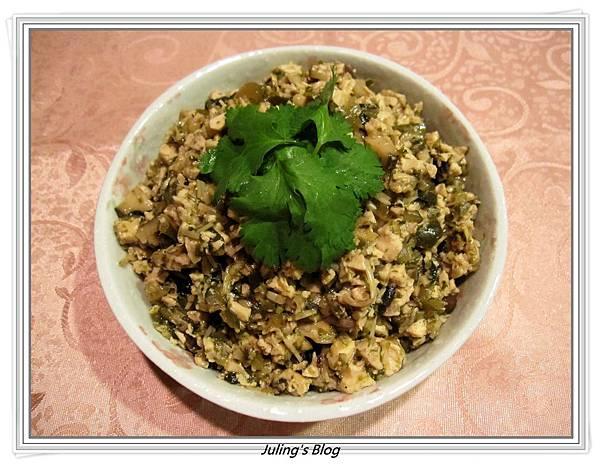 香菇素肉燥(用百頁豆腐)1