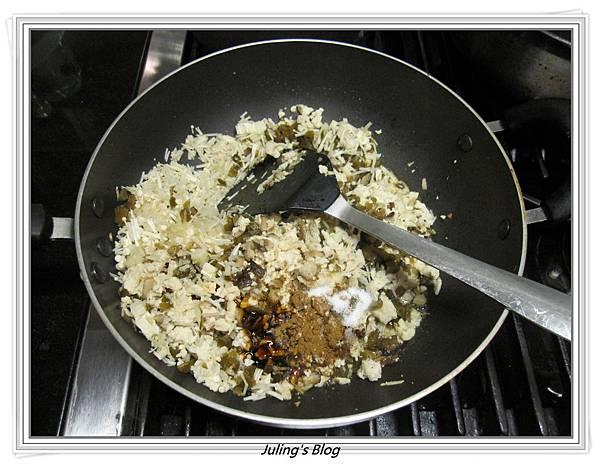香菇素肉燥做法5