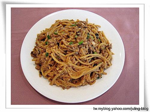 麻婆豆腐義大利麵