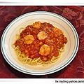 蕃茄鮮蝦義大利麵