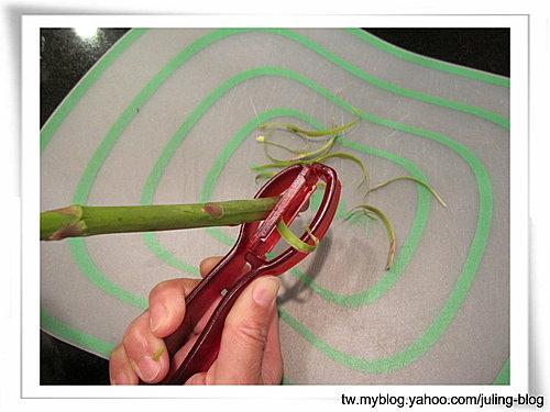 蘆筍削皮刀 4