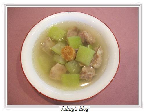 瓠瓜排骨湯
