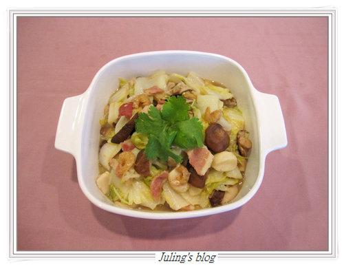 培根滷白菜