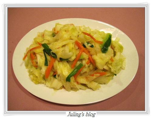 脆炒高麗菜