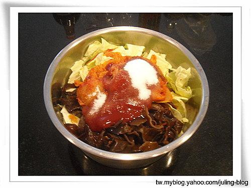韓式泡菜炒年糕4
