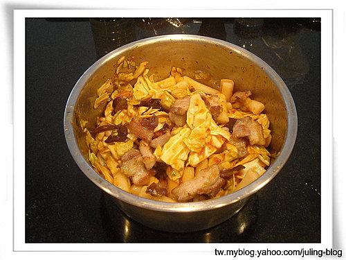 韓式泡菜炒年糕6