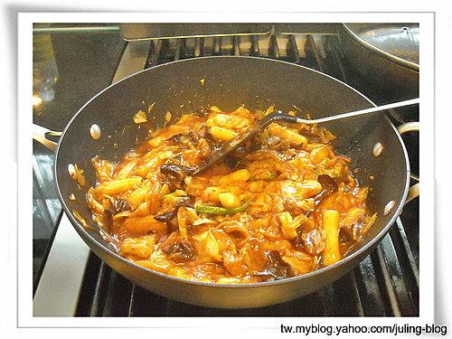 韓式泡菜炒年糕11