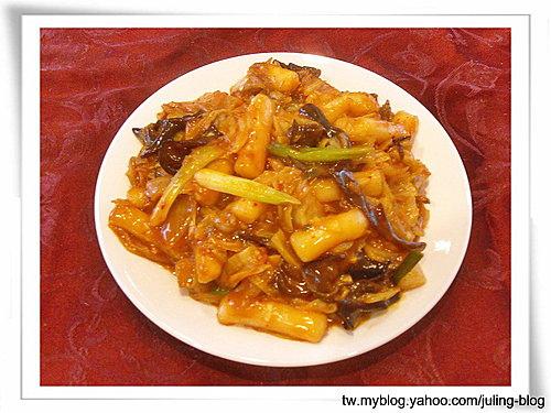 韓式泡菜炒年糕12