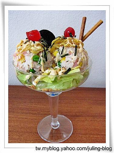 冰淇淋散壽司