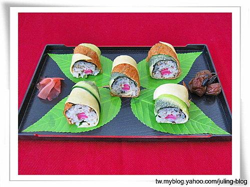 五彩壽司捲 14