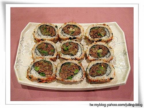 蔥燒牛肉壽司13