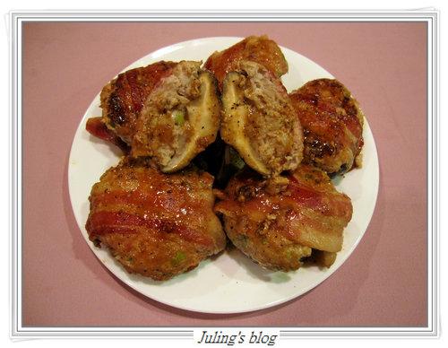 鮮菇大肉餅