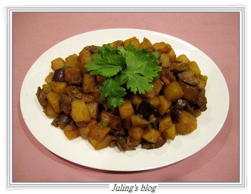 馬鈴薯燜茄子