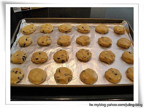 酥脆巧克力豆餅乾 5