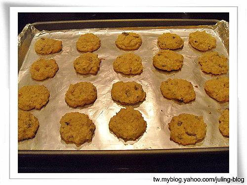 楓糖燕麥餅乾8
