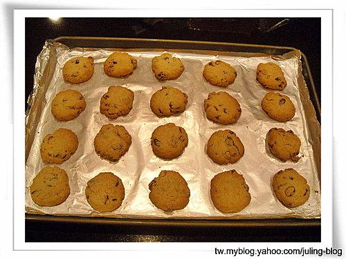 三色果乾燕麥餅乾7