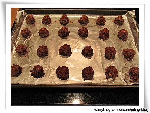 巧克力燕麥餅乾10