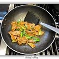沙茶豬肝菠菜做法10